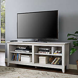 Forest Gate™ Thomas 58-Inch TV Stand in White Wash