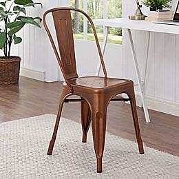 Forest Gate Industrial Modern Metal Café Chair