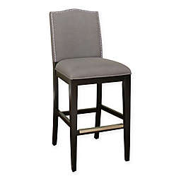 American Heritage Chase 26-Inch Counter Stool in Black/Grey (Set of 2)