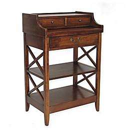 Wayborn Eiffel Writing Desk in Chocolate Brown
