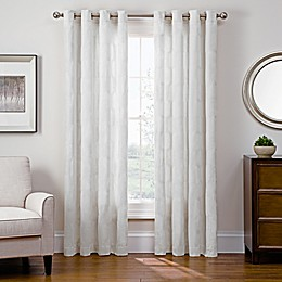 Sharper Image® Cassie Grommet Top Snap-In Window Curtain Panel