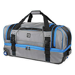 ful® Streamline 30-Inch Rolling Duffle in Grey