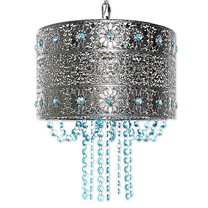 Alternate image 1 for Poetic Wanderlust® by Tracy Porter® Mattei Jeweled Hanging Lamp With Cascading Crystals