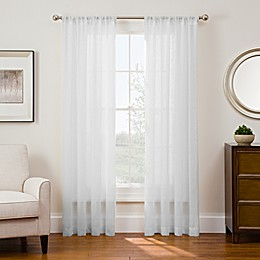 Sharper Image® Sonoma Rod Pocket Snap-In Window Curtain Panel