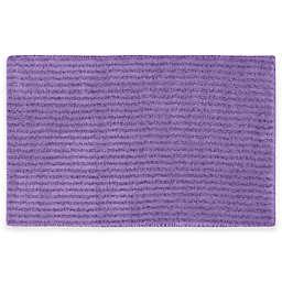 Sheridan Soft 24'' x 40'' Bath Rug in Purple