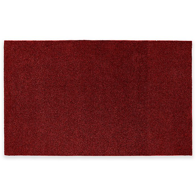 Buy Nylon 5-Foot X 8-Foot Bath Rug In Burgundy From Bed