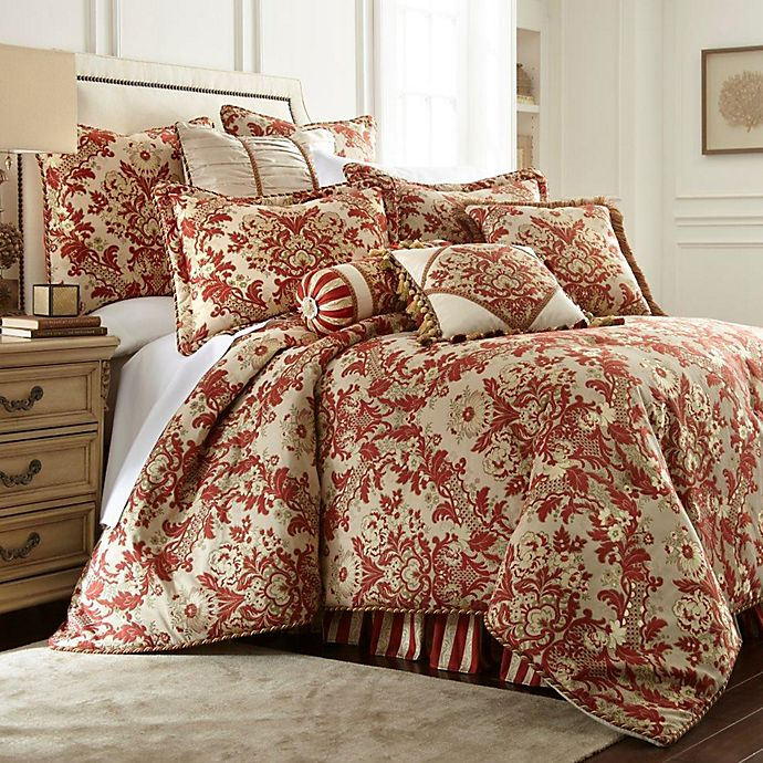 Alternate image 1 for Austin Horn® Classics Mount Rouge King Comforter Set in Rustic Red