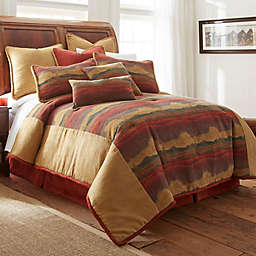 Austin Horn® Classics Desert Sunset Comforter Set in Rust/Gold