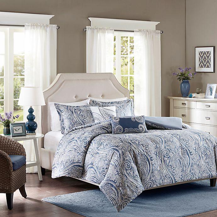 Alternate image 1 for Harbor House™ Stella Full/Queen Duvet Cover Set in Blue