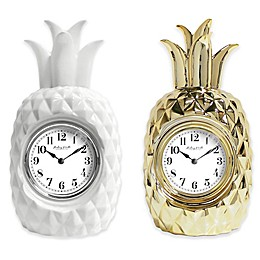 Sterling & Noble Pineapple Clock