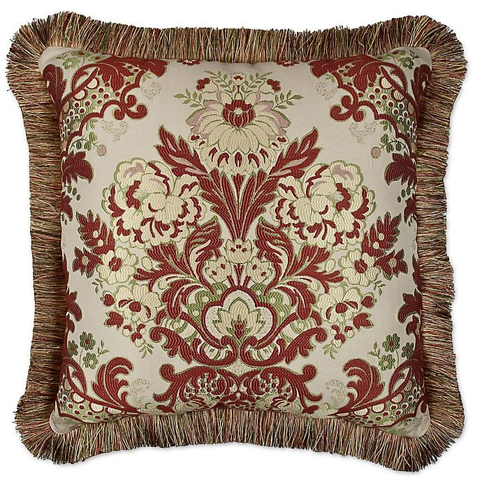 Alternate image 1 for Austin Horn® Classics Mount Rouge 20-Inch Square Throw Pillow in Rustic Red