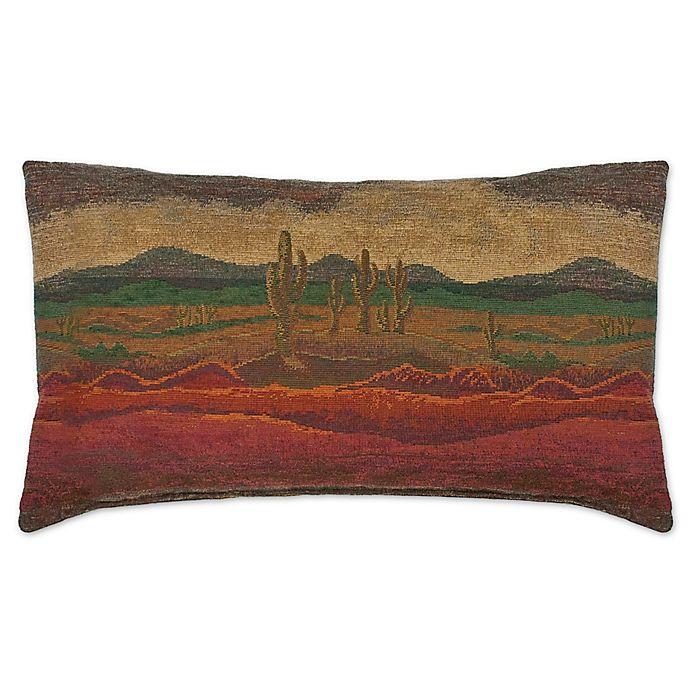 Austin Horn 174 Classics Desert Sunset Oblong Throw Pillow In