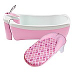 Summer Infant® Lil Luxuries Whirlpool Bubbling Spa and Shower in Pink