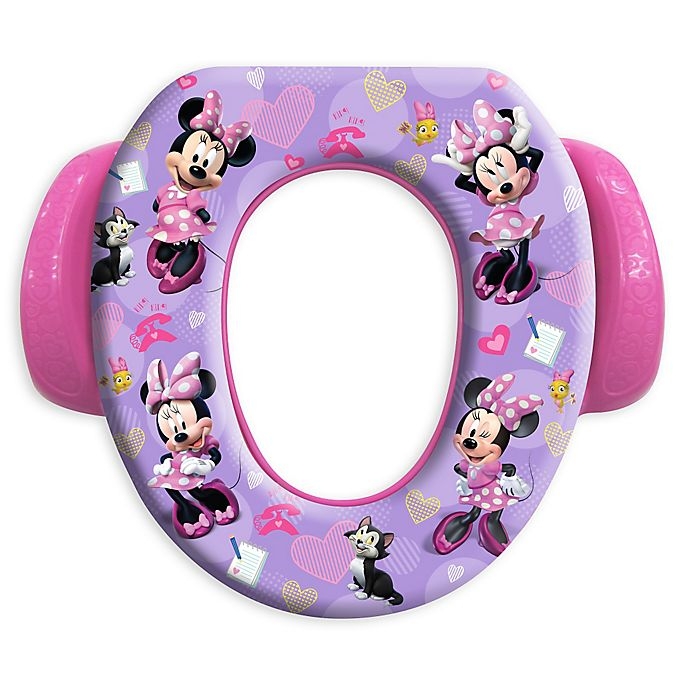 Alternate image 1 for Disney® Minnie Mouse Happy Helpers Soft Potty Seat