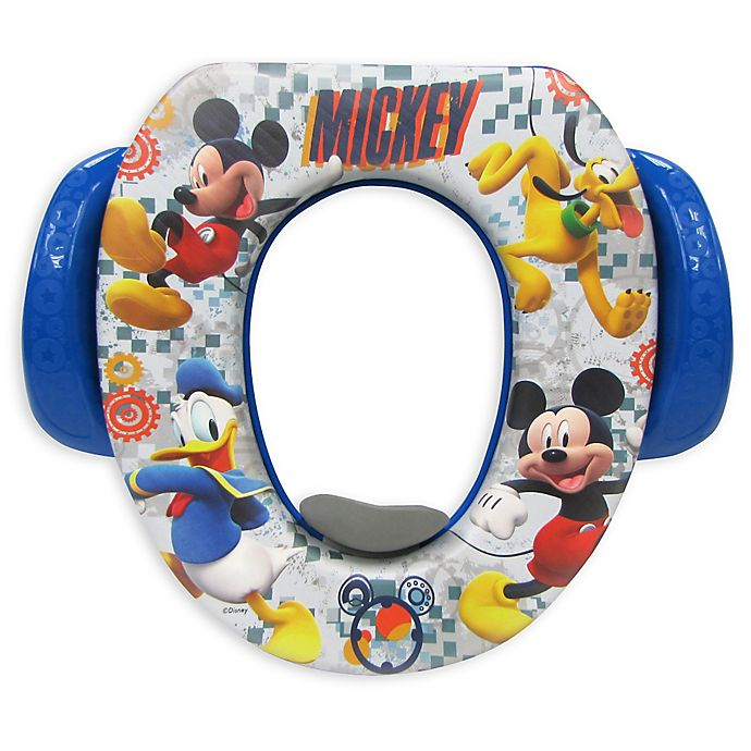 Alternate image 1 for Disney® Mickey Mischief Makers Soft Potty Seat