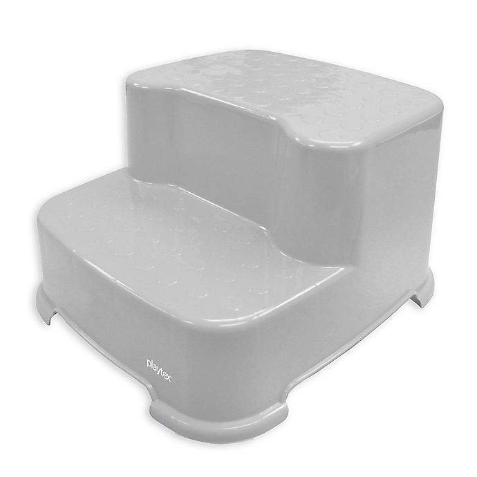Playtex 174 Transitions 2 Step Stool In Grey Bed Bath And