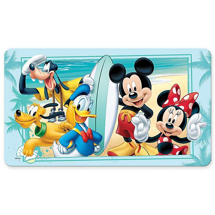 Alternate image 1 for Disney® Mickey Summer Fun Bath Mat