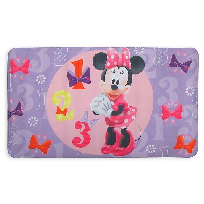 Alternate image 1 for Disney® Minnie Bow-Tique Bath Mat
