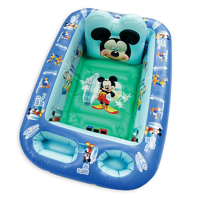 Alternate image 1 for Disney® Mickey Inflatable Tub