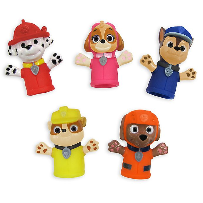 Alternate image 1 for Nickelodeon™ PAW Patrol Finger Puppets