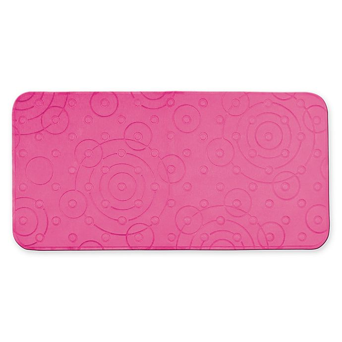 Alternate image 1 for Playtex® PVC Cushy Comfy Bath Mat in Pink