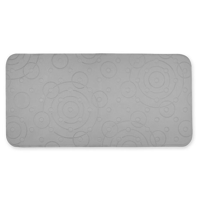 Alternate image 1 for Playtex® PVC Cushy Comfy Bath Mat in Grey