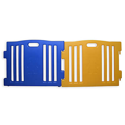 Baby Diego Cub'Zone Playard Extension Panels in Blue/Yellow (Set of 2)