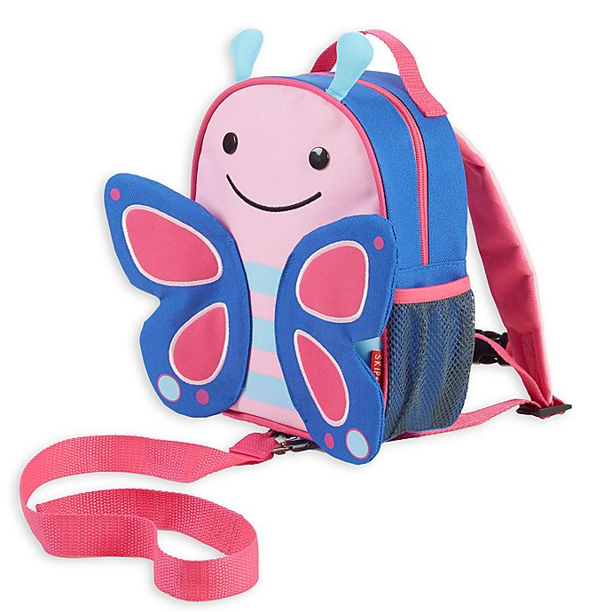 SKIP HOP® Zoo Little Kid and Toddler Safety Harness Backpack in Blossom  Butterfly fda190674af80