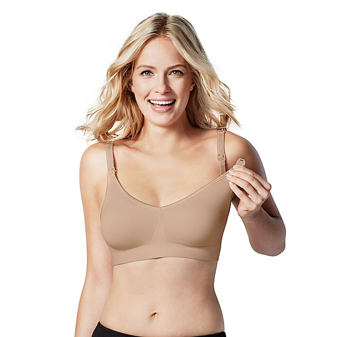 Alternate image 1 for Bravado Designs Body Silk Seamless Nursing Bra in Butterscotch