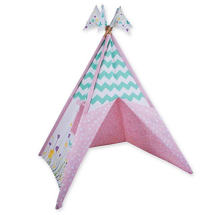 Alternate image 1 for Pacific Play Tents Wild Flowers Teepee