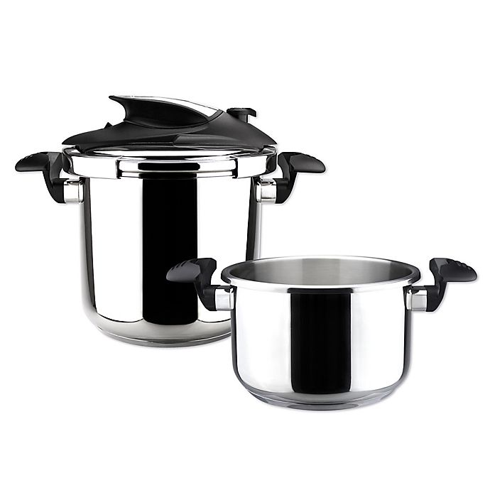 Alternate image 1 for Magefesa® Nova Stovetop 3-Piece Pressure Cooker Set