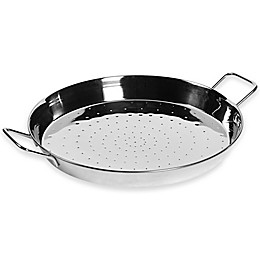 Denmark® 16-Inch Stainless Steel Paella Pan