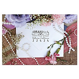 Stamp Out Self-Inking Return Address Stamp in Drake Family Font