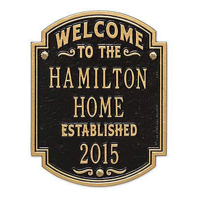 Whitehall Products Heritage Welcome/Anniversary Plaque