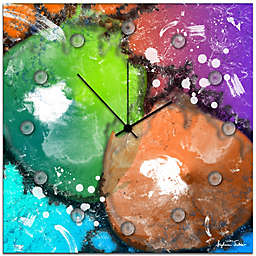 Metal Art Studio Radioactive Wall Clock