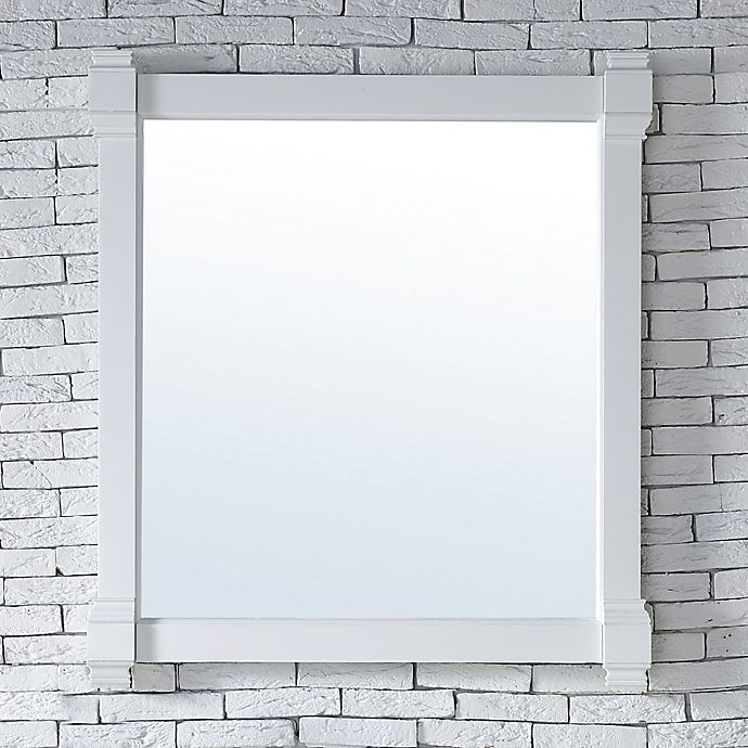 Alternate image 1 for James Martin Furniture Brittany 35-Inch Mirror in Cottage White