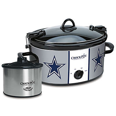 NFL Dallas Cowboys Crock-Pot® Cook & Carry™ Slow Cooker with Little Dipper Warmer