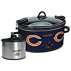 NFL Chicago Bears Crock-Pot® Cook & Carry™ Slow Cooker with Little Dipper Warmer