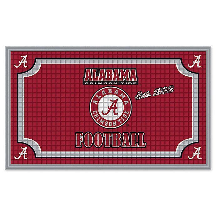 Alternate image 1 for University of Alabama Embossed Door Mat