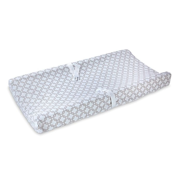 Alternate image 1 for carter's® Trellis Velboa Changing Pad Cover