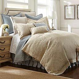 Austin Horn® Classics Abigail Comforter Set in Aqua Blue/Beige
