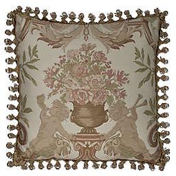 Austin Horn® Classics Cherub Square Throw Pillow in Beige
