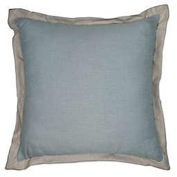 Austin Horn® Classics Abigail Square Throw Pillow in Aqua Blue/Beige