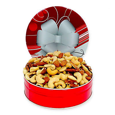 Fifth Avenue Gourmet 16 oz. Mixed Nuts in a Holiday Tin