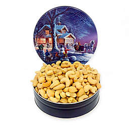 Fifth Avenue Gourmet 16 oz. Jumbo Cashews in a Holiday Tin