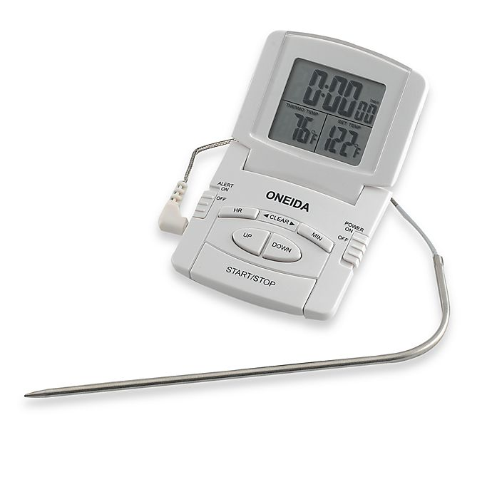 Oneida Digital Probe Cooking Thermometer With Timer Bed Bath Beyond