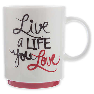 "Formations ""Live A Life You Love"" Coffee Mug"