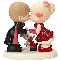 Precious Moments® Magician Kissing Assistant Figurine