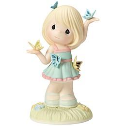 Precious Moments® Girl Amidst Butterflies Figurine