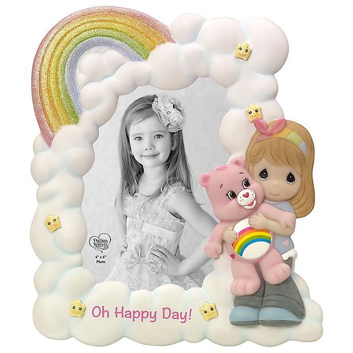 Alternate image 1 for Precious Moments® Care Bear Girl with Cheer Bear Photo Frame